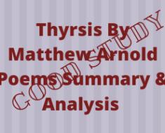 Thyrsis