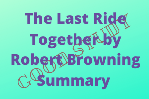 The Last Ride Together