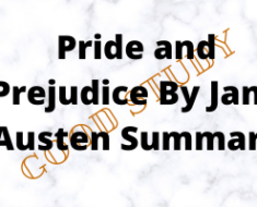 Pride and Prejudice By Jane Austen Summary