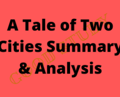 A Tale of Two Cities Summary & Analysis