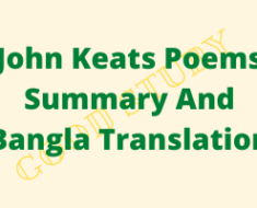 John Keats Poems