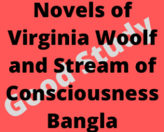 Novels of Virginia Woolf and Stream of Consciousness Bangla
