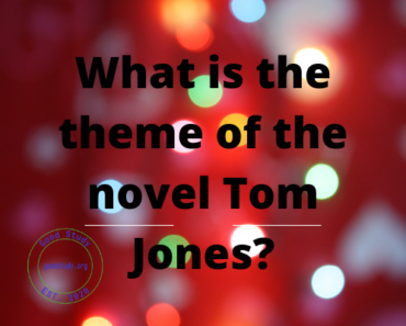 What is the theme of the novel Tom Jones