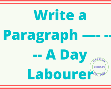 A Day Labourer