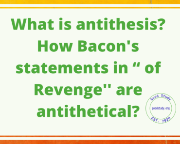 What is antithesis