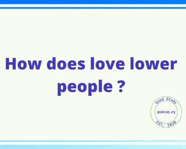 love lower people