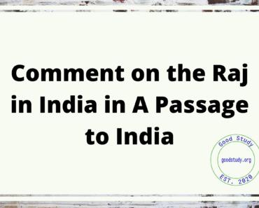 Raj in India