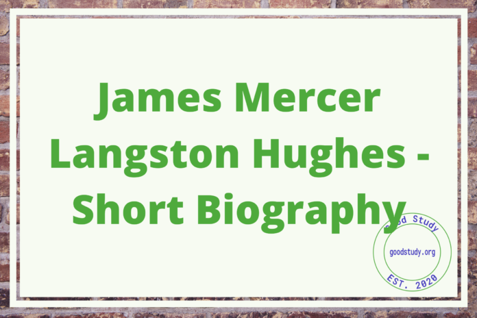 James Mercer Langston Hughes - Short Biography